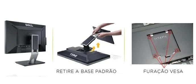 Imagem Padrão VESA nos Monitores