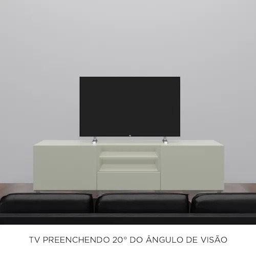 Imagem do Campo de Visão para assistir TV 20 graus
