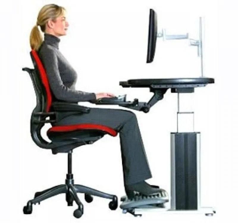 Postura adequada NR-17 Ergonomia no trabalho de computadores