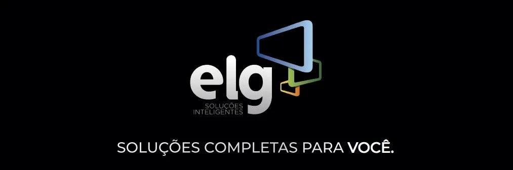 Banner com logomarca da ELG no site da Central Suportes