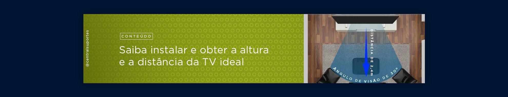 Banner Distância da TV